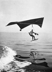 Water ski Rogallo photo by Carl Boenish