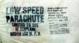 Printed info on Windhaven chute made in 1978