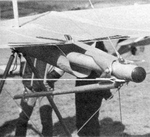 Gryphon 2 wing warping mechanism
