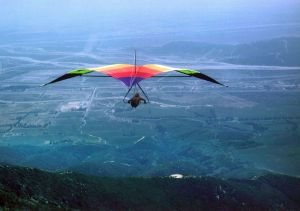 Dave Meyers heads out from Pine Flats, San Bernadino, California, in a Seagull 3 in 1973 or -4