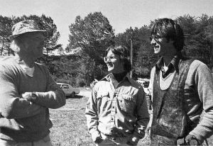 George Worthington, Tom Peghiny, and Dennis Pagen at Chattanooga in October 1978 by Bettina Gray