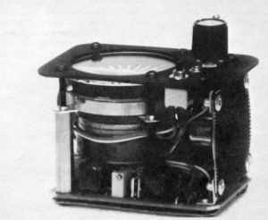 Internals of the Systek II variometer of 1984