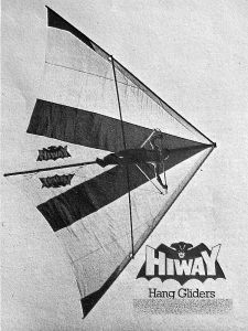 Art based on a photo of a Hiway standard Rogallo