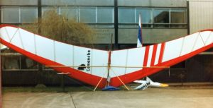 Birdman Comanche at the 1979 BHGA AGM