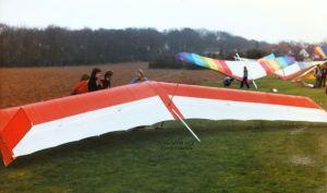Manta Fledge 2 at BHGA AGM Warwick Uni, March 1980