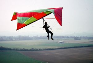 Roger P's first hang glider