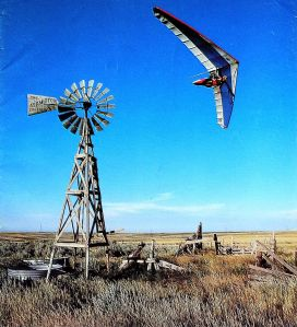 Art based on a photo by Skip Brown of  Greg DeWolf of Fly America near Hawk Springs, Wyoming