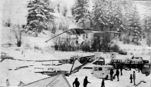 British Columbia Snow Kites, February, 1978 by Leroy Grannis