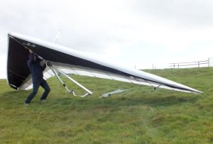 Lifting the glider