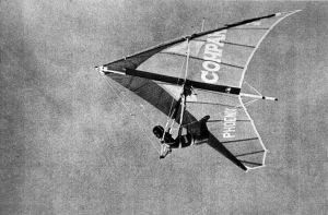 Paula Vieria flying a Phoenix 6C