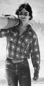 Jim Johns at Jockey's Ridge by J Foster Scott