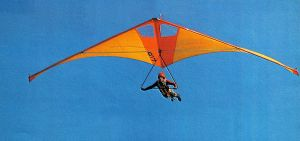 From the UP Dragonfly advert in Hang Glider, Spring 1975