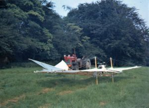 Tony Prentice's 1968 Lilienthal type hang glider