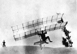 Chanute glider, 1896
