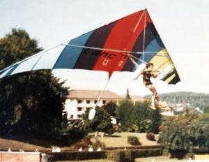 195 Lancer IV hang glider