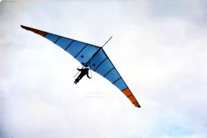 Lancer 3 hang glider of 1977