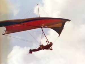 Skua hang glider designed by by Graeme Bird