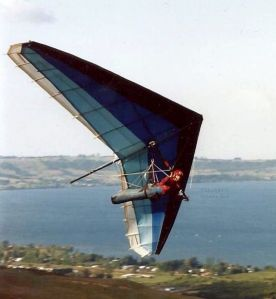 Graeme Bird Shark hang glider