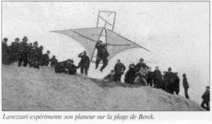 Jan Lavezzari's 1904 hang glider