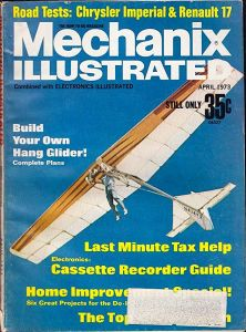 VJ-23 on the cover of Mechanix Illustrated, April 1973