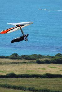 Voytek flying an Icaro Laminar in July 2018