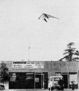 Windhaven hang gliding school and store in Sylmar, California