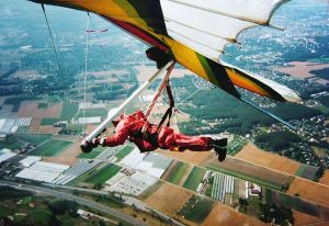 Airwave Magic 4 hang glider in France, in 1994
