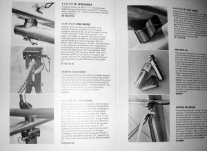 Page from the 1974 Brock hang glider parts catalog