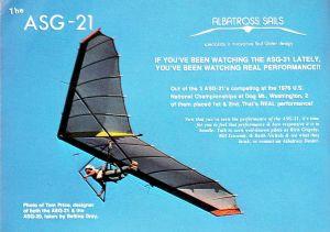 ASG-21 hang glider photo by Bettina Gray