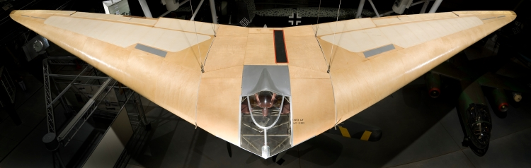 Horten III-f on display at the Smithsonian National Air and Space Museum Udvar-Hazy Center, Chantilly, Virginia