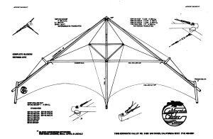 California Glider hang glider advert