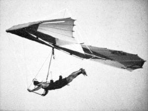 Mouette Atlas hang glider of 1980