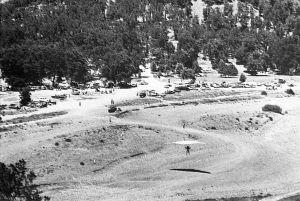 Elk Mountain hang glider landing zone