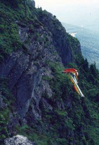 Bennett Streak crash at Grandfather Mountain in July 1983