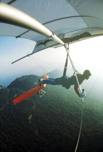 Flying at Grandfather Mountain likely in September 1980