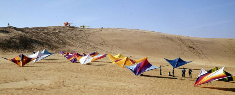 Jockey's Ridge State Park in about 1975