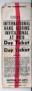Pico Peak day ticket