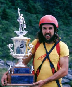 Terry Sweeny won the competition at Grandfather Mountain in June 1975