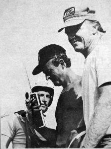 Bob Calvert, Derek Evans, and George Worthington