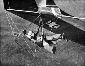 Dug Lawton launching in a UP Comet