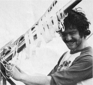 Bob England and the Gannet