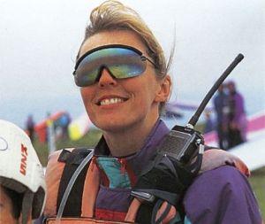 British hang glider and sailplane pilot Kay Draper