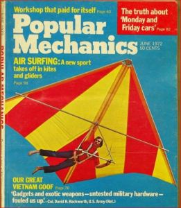 Dick Eipper on the cover of Popular Mechanics