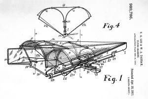 Lee and Darrah's 1910 design patent