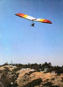 Robert Reed in a Sunbird Nova 190 at Crestline
