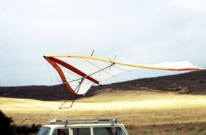 Tethered to vehicle to test strength